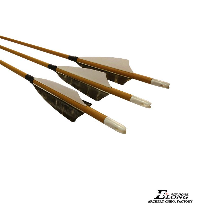 SP600 Feather Wood Camo Carbon Arrows