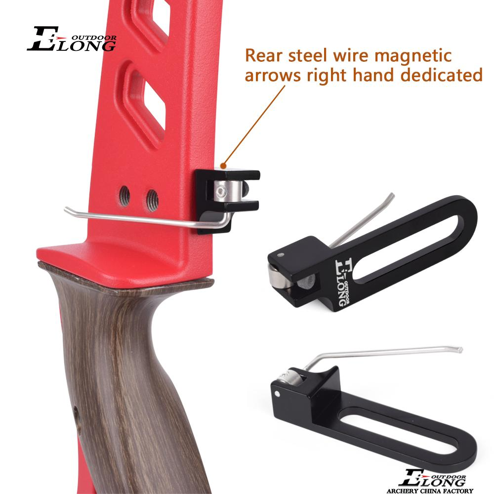 Archery Recurve Bow Shooting Magnetic Arrow Rest