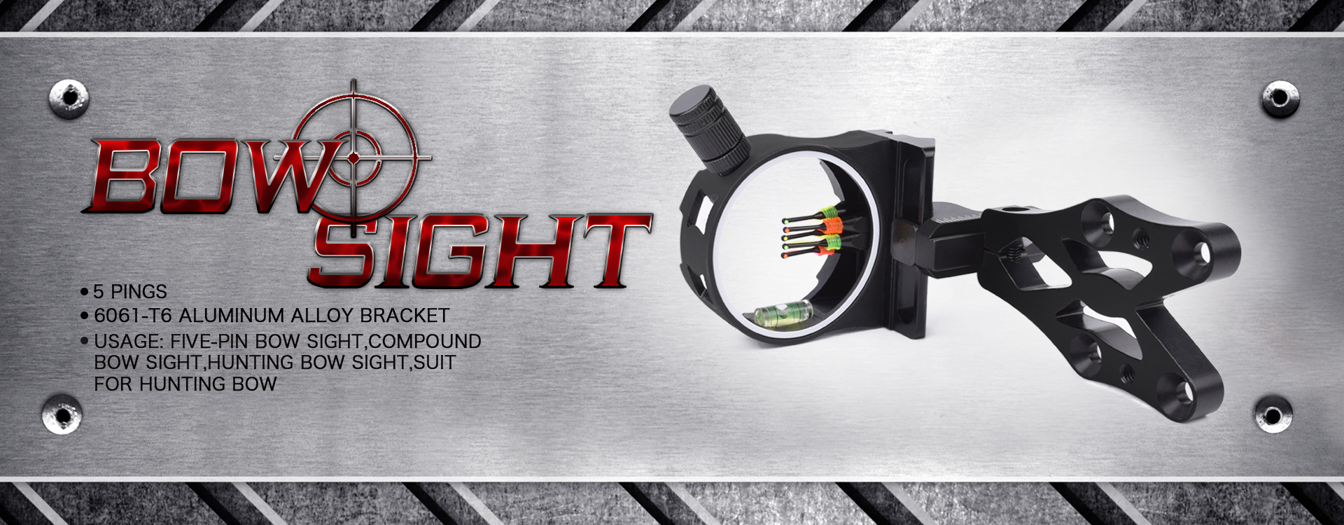 Five-pin Hunting Bow Sight