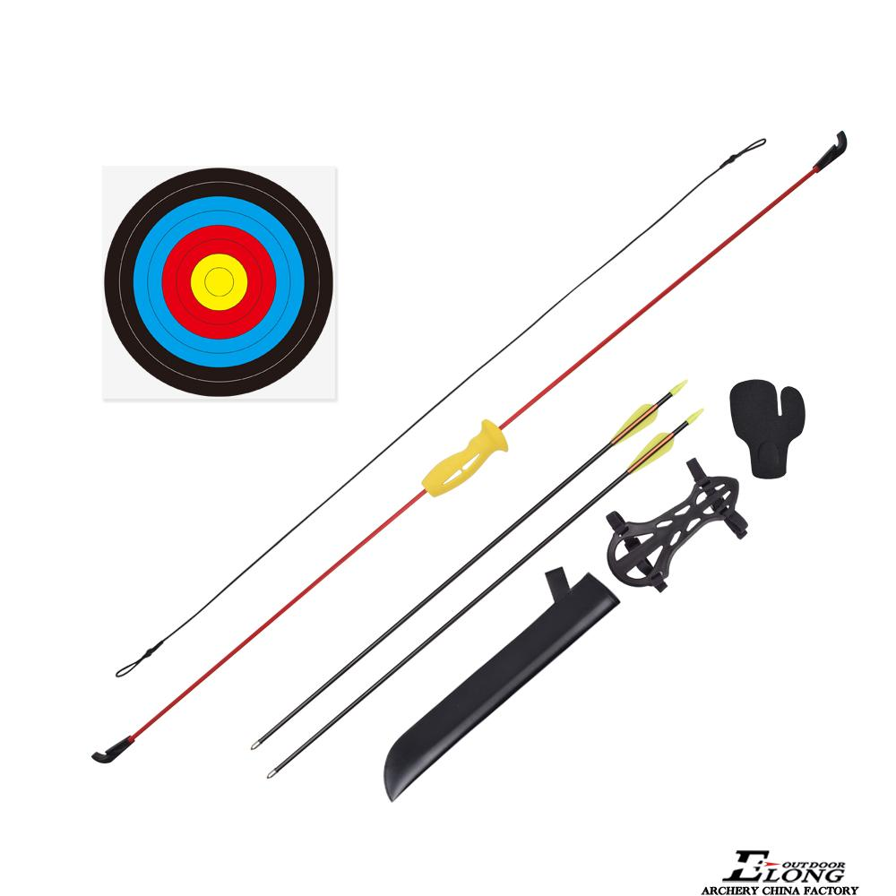 Nika takedown youth recurve bow and arrow set archery youth bow set